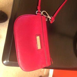 Original Calvin Klein Red wristlet